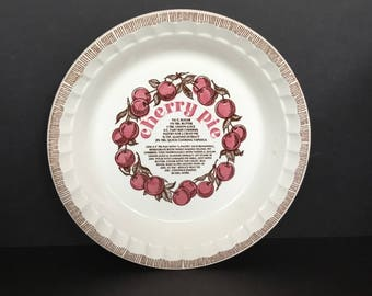 Jeanette cherry pie pan