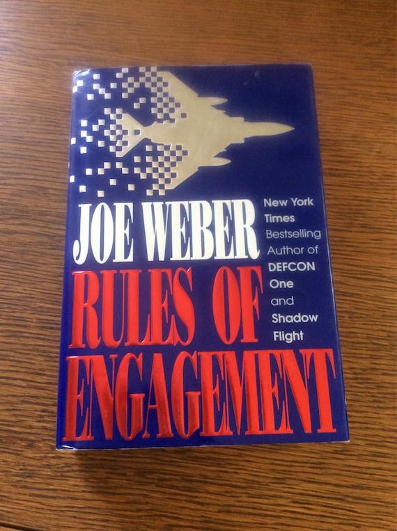Rules of Engagement by Joe Weber, first edition from 1991, first edition and first print, Joe Weber novel, military novel, Vietnam War novel