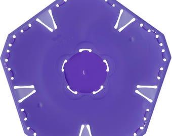 Quick Yo Yo Maker Small Flower by Clover (8706) Plastic Template