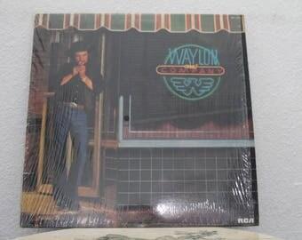 "Waylon Jennings - ""Waylon And Company"" vinyl record"