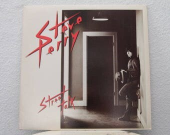 "Steve Perry - ""Street Talk"" vinyl record w/ Original Inner Sleeve"