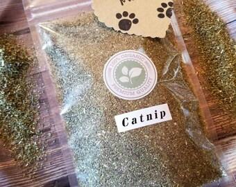 Organic Catnip || Catnip || Cat Toys || Dried Catnip || Organic Herbs || Cat Gift