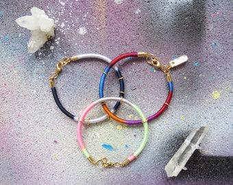 AMAZONE #1 - set of colorful bracelets, rope bracelet, ethnic bracelet, arm candy, delicate bracelets, summer bracelet, boho chic bracelet