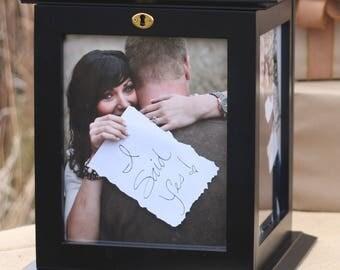 Clearance Black Wedding Card Box
