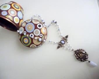 Necklace art nouveau women