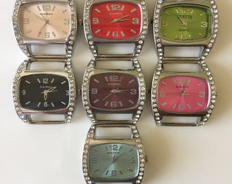Ribbon Watch Faces For Double Stranded Beaded Watch Bands (1182)