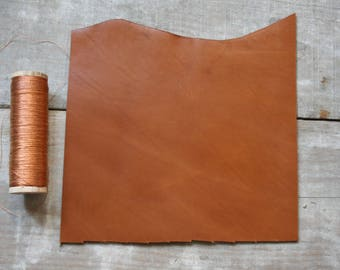 A5 size CAMEL leather
