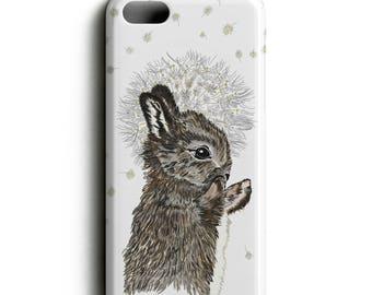 Rabbit Phone Case, Bunny Phone Case, iPhone Case, Samsung Case