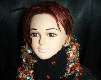 soft embellished collar