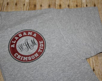 Monogrammed Alabama T'shirt