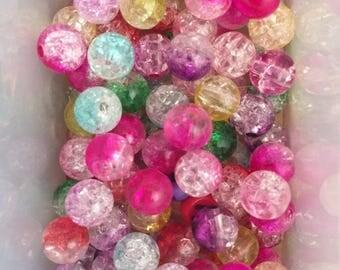 Set multi colour bead size