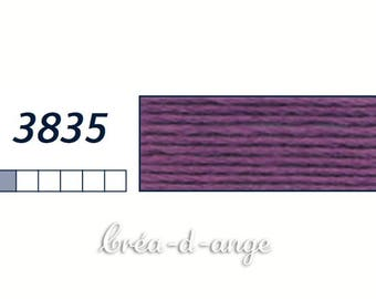 FLOSS DMC Mouline Special purple # 3835