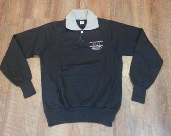 1983 RUSH Promo Tour collared sweatshirt!!