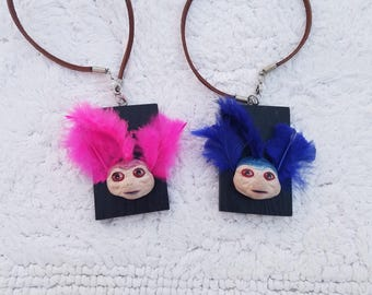 Labyrinth Mr. and Mrs. Worm Charms