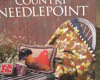 American Country Needlepoint  isbn 1-56158-171-1