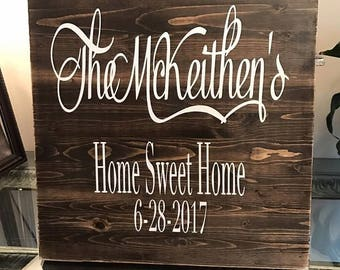 Great closing gift, wedding gift, personal gift idea