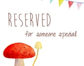 Reserved for Tineke