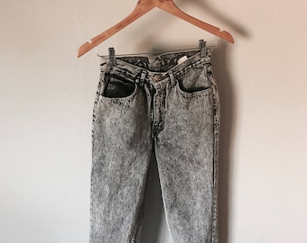 90's Jordache Grey Acid Wash Jeans
