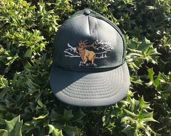Green Colorado Trucker Hat