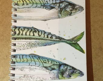 Triple fish notebook