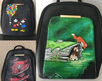 HAND PAINTED BackPack