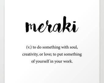 Meraki Monograms