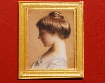 Dollhouse Fine Art Print; Head of a Young Girl, 1910
