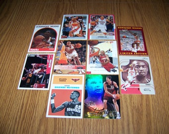 50 Atlanta Hawks Basketball Cards