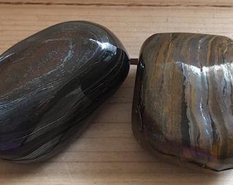 Tiger Iron Palm Power Stone, Healing Stone, Healing Crystal, Chakra Stone, Spiritual Stone