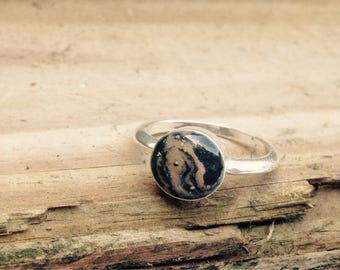 Pet Ash Ring, Pet Memorial Jewelry, Sterling Silver, , Pet Ash Jewelry, Many colors available!