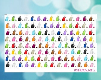 Weekend Sale 112 Vacuum Cleaner Stickers for your planner or scrapbooking