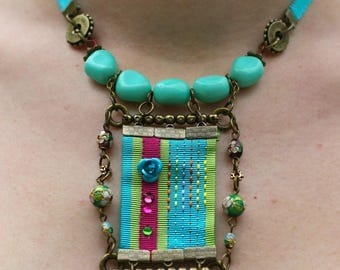 """Ethnic Choker necklace the """"Istanbul"""""""