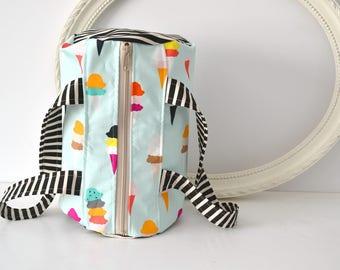 Kids Duffel Bag - Canvas Duffel Bag, Girls Duffle Bag, Camping Bag, Beach Bag, Dance Bag for Girls, Summer Bag, Small Duffle Bag, Tote bag
