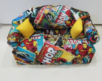 Avengers Comic Book Couch Tissue Box Cover