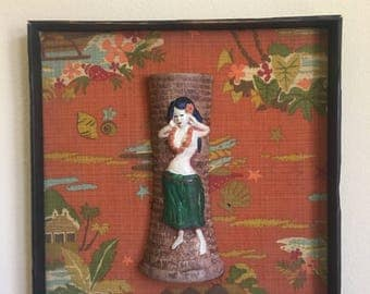 Mid-century Tiki Wall Art by SUMP!