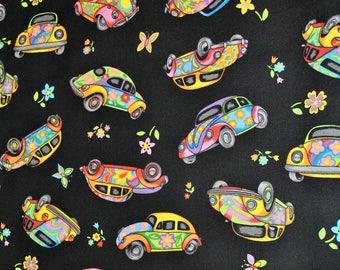 Herbie, VW Beetle Fabric by Nutex