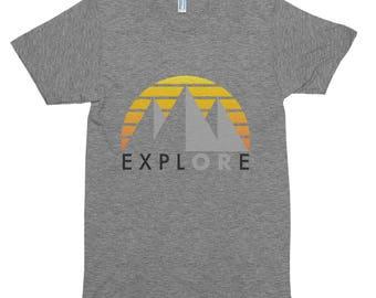ExplORe - Short sleeve soft t-shirt