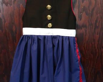 Marine Corps Dress Blues Dress (Girl's sizes)