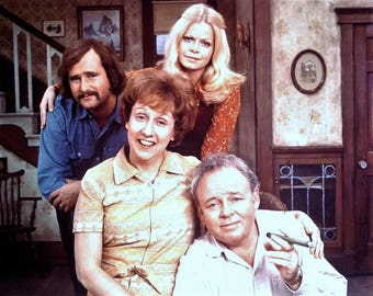 Cast from All In The Family , 1970's # 2