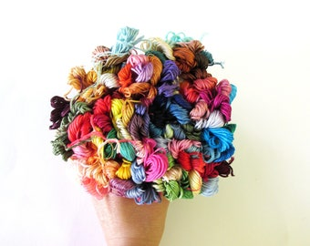 50 Skeins Pack  of Embroidery Floss -  You pick the colors -447colors to choose similar to DMC