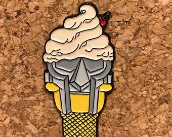 Soft served Mf doom cone