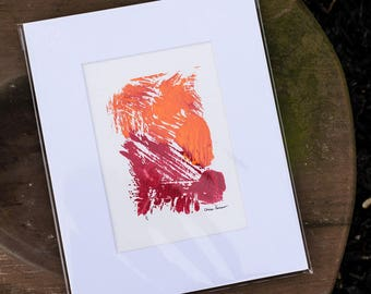 Slice the Day Right: Monotype, Matted and Easy to Fame