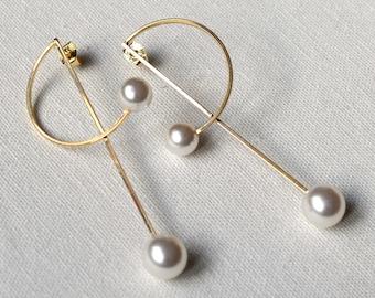 Earrings golden hoop