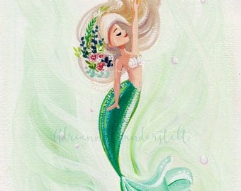 Peaceful Mermaid