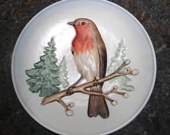 "Goebel Wildlife 7 1/2"" Robin Plate"