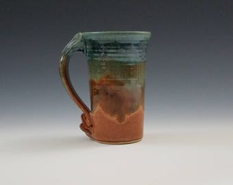 Tall Mug in Blue Ridge Glaze
