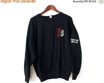 ON SALE ONE Size (Xxlarge+) Vintage 1988 David Lee Roth Skyscraper World Tour Soft and Comfortable Pullover Sweatshirt