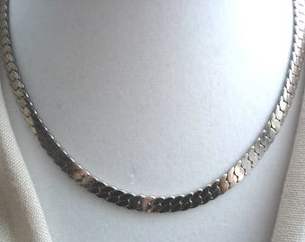 Mens Vintage Chain, Flat Chain for Men, Mens Figaro Chain, Mens Jewelry, Gifts for Men, Fathers Day