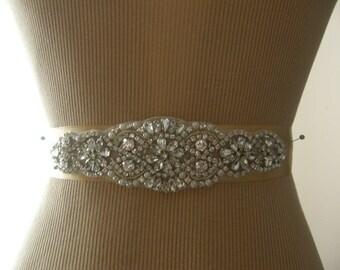 Sale, Wedding Belt, Bridal Belt, Bridesmaid Belt, Sash Belt, Wedding Sash, Bridal Sash, Belt, Crystal Rhinestone & Pearl