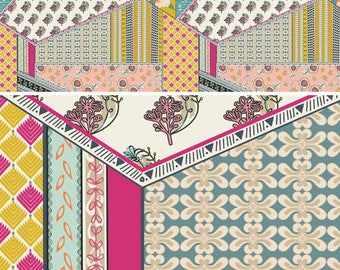 INDIE BOHEME By Pat Bravo for Art Gallery Fabrics Bohemian Patchwork